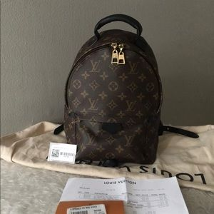 Louis Vuitton monogram backpack available